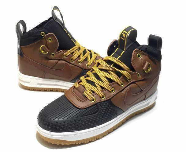 Nike Lunar Force 1 Duckboot (Brown/Black) фото #3 в «GetKeds»