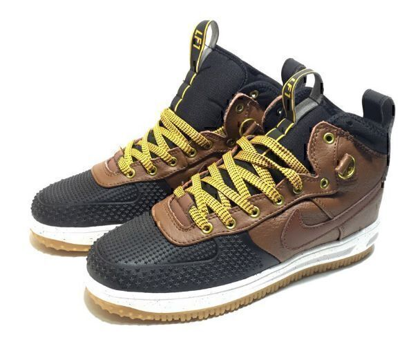 Nike Lunar Force 1 Duckboot (Brown/Black) фото #4 в «GetKeds»