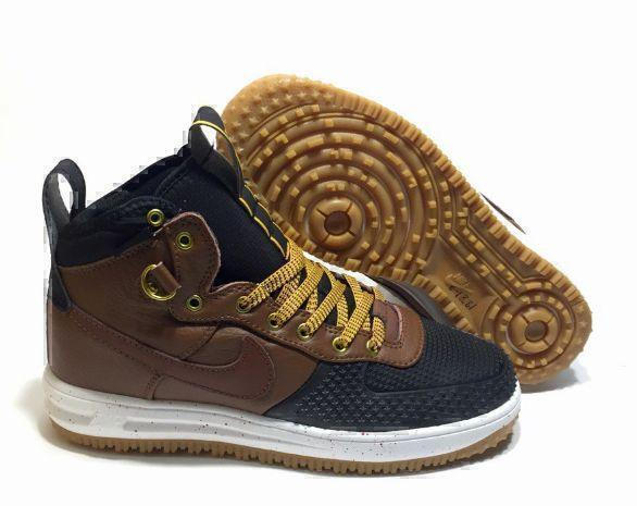 Nike Lunar Force 1 Duckboot (Brown/Black) фото #2 в «GetKeds»