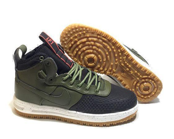 Nike Lunar Force 1 Duckboot (Olive/Black) фото #2 в «GetKeds»