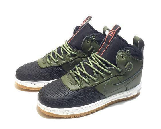 Nike Lunar Force 1 Duckboot (Olive/Black) фото #3 в «GetKeds»