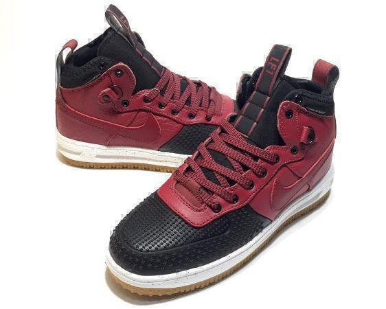 Nike Lunar Force 1 Duckboot (Red/Black) фото #3 в «GetKeds»