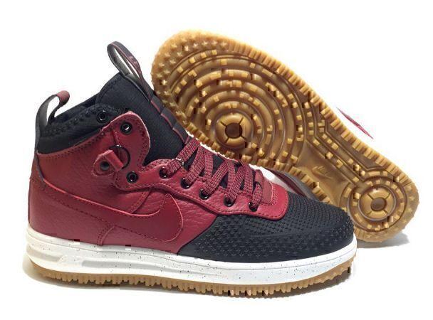 Nike Lunar Force 1 Duckboot (Red/Black) фото #2 в «GetKeds»