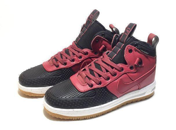 Nike Lunar Force 1 Duckboot (Red/Black) фото #4 в «GetKeds»