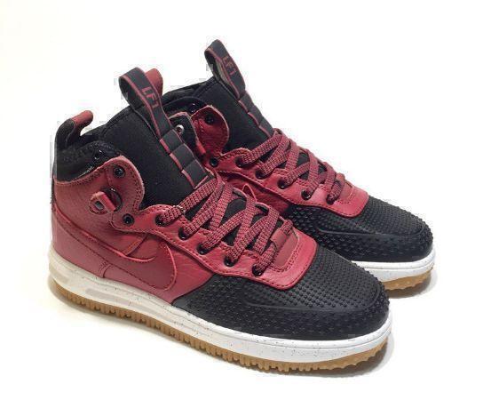 Кроссовки Nike Lunar Force 1 Duckboot (Red/Black) фото в «GetKeds»