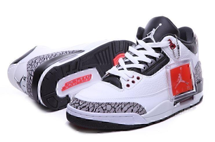Air Jordan 3 Retro (White/Black) фото #2 в «GetKeds»