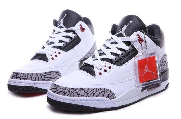 Air Jordan 3 Retro (White/Black) фото #3 в «GetKeds»