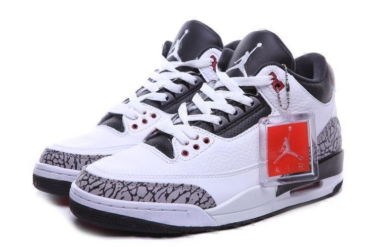 Air Jordan 3 Retro (White/Black) фото #4 в «GetKeds»