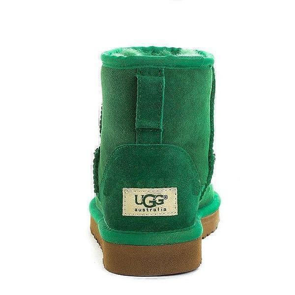 UGG Classic Mini II Dark Green фото #3 в «GetKeds»