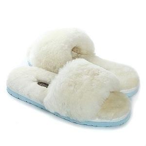 Угги UGG Fluff Slide Slippers White