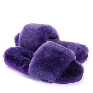 Угги UGG Fluff Slide Slippers Purple