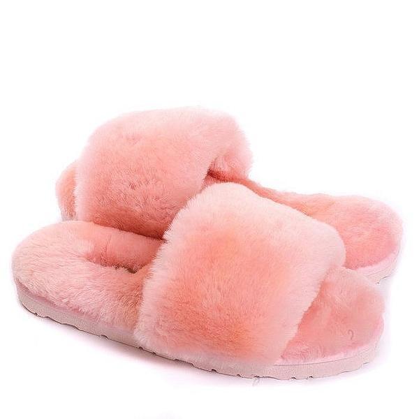 Угги UGG Fluff Slide Slippers Pink фото в «GetKeds»