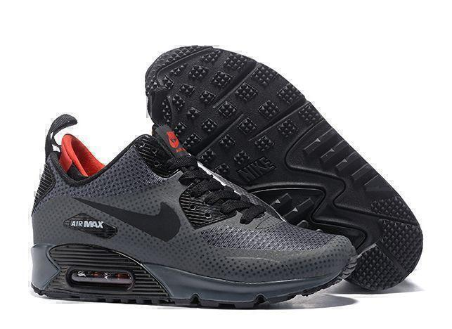 Кроссовки Nike Air Max 90 Mid (Grey) фото в «GetKeds»