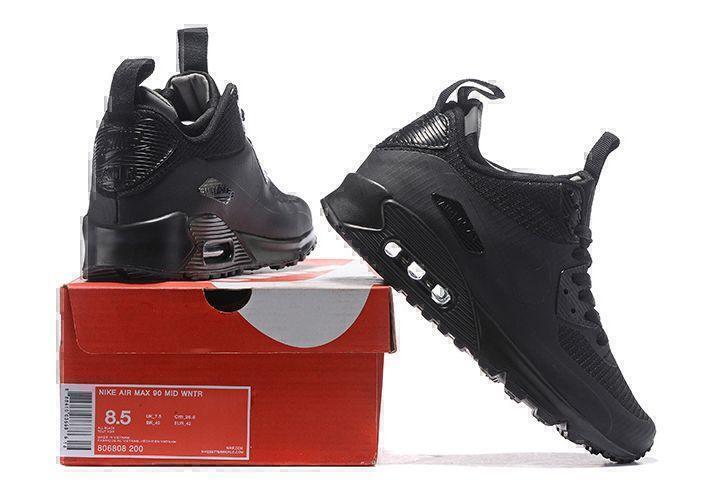 Nike Air Max 90 Mid (Black) фото #2 в «GetKeds»