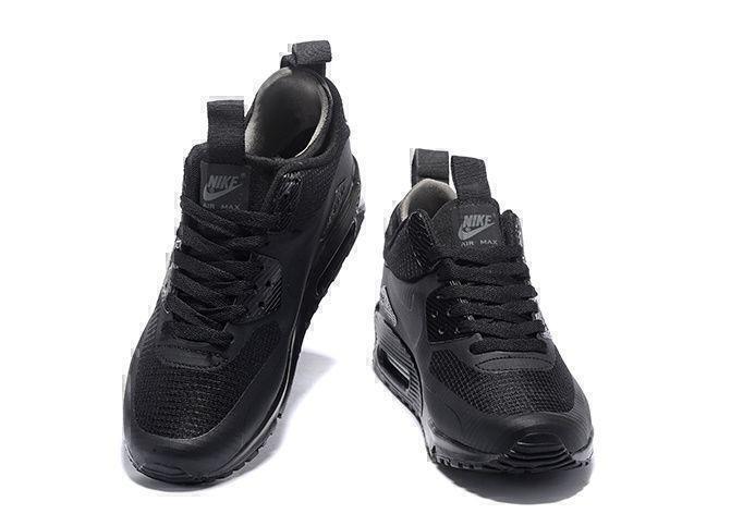 Nike Air Max 90 Mid (Black) фото #3 в «GetKeds»