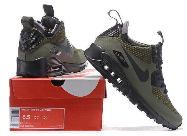 Nike Air Max 90 Mid (Green) фото #3 в «GetKeds»