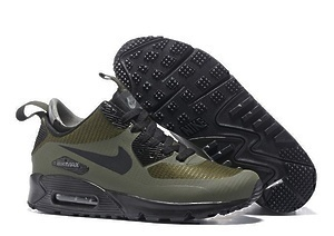 Кроссовки Nike Air Max 90 Mid (Green)-M5762GK