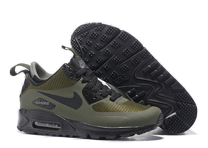 Кроссовки Nike Air Max 90 Mid (Green) фото в «GetKeds»