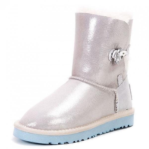 UGG Kids Bailey Button I Do White фото #2 в «GetKeds»