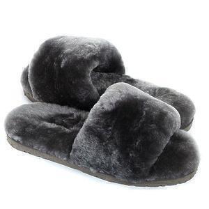 Угги UGG Fluff Slide Slippers Grey