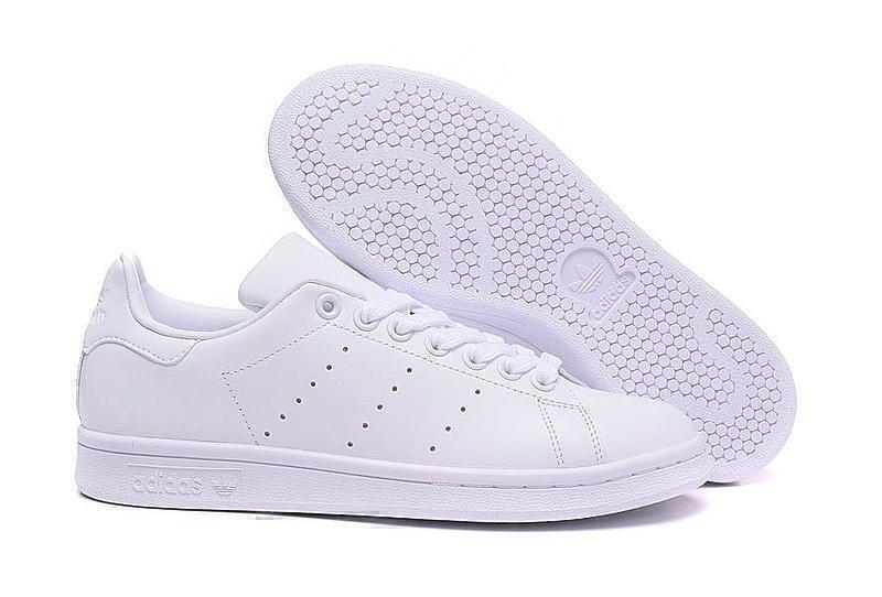 Кроссовки Adidas Stan Smith (White) фото в «GetKeds»