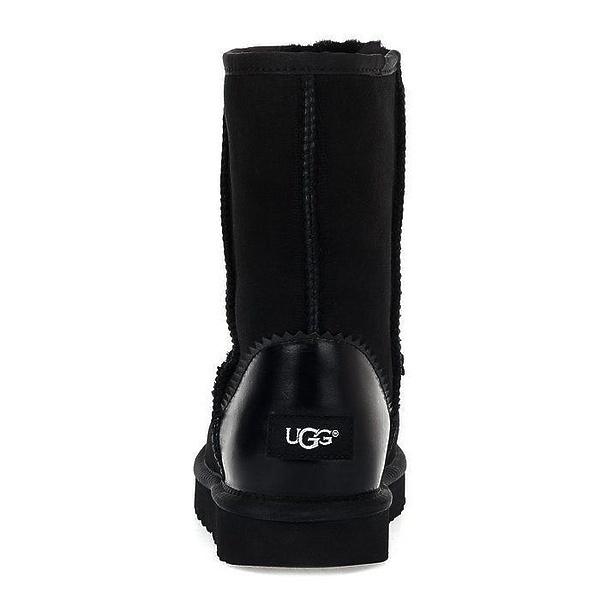 UGG Classic Short ll Metallic Black фото #4 в «GetKeds»