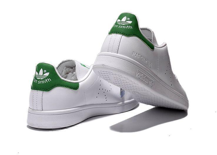 Raf Simons x Adidas Stan Smith (White/Green) фото #3 в «GetKeds»