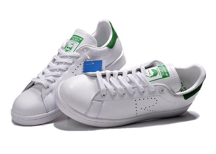 Raf Simons x Adidas Stan Smith (White/Green) фото #4 в «GetKeds»