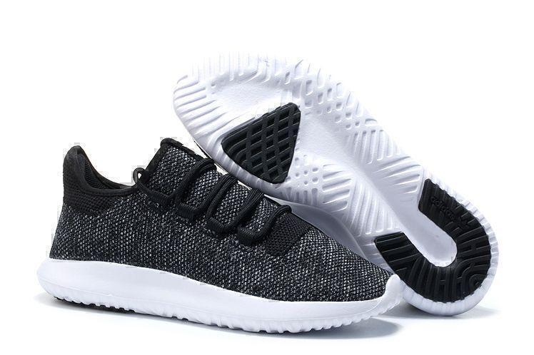 Кроссовки Adidas Tubular Shadow Knit (Core Black/Vintage White) фото в «GetKeds»