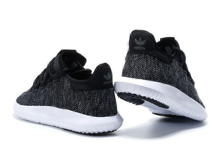Adidas Tubular Shadow Knit (Core Black/Vintage White) фото #3 в «GetKeds»