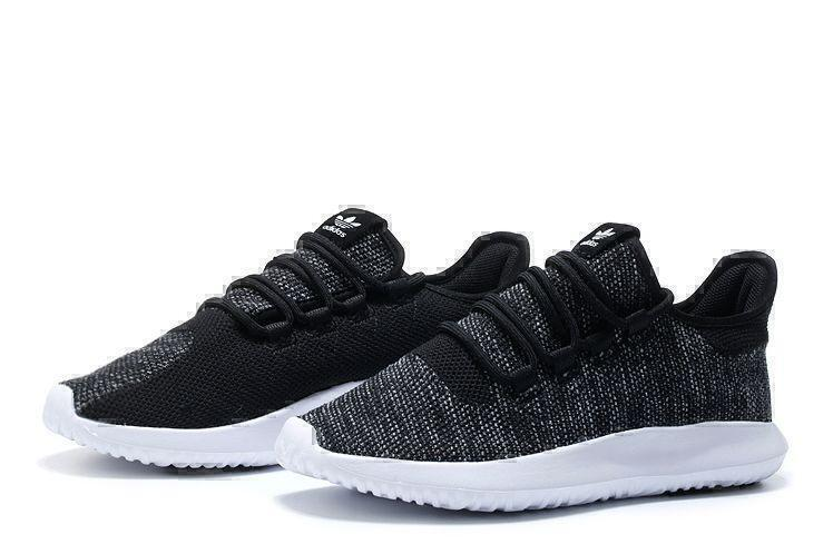 Adidas Tubular Shadow Knit (Core Black/Vintage White) фото #4 в «GetKeds»