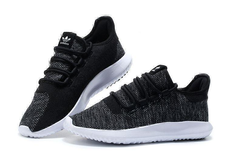 Adidas Tubular Shadow Knit (Core Black/Vintage White) фото #2 в «GetKeds»