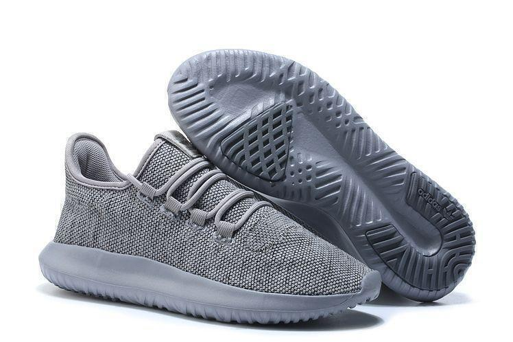 Кроссовки Adidas Tubular Shadow Knit (Grey) фото в «GetKeds»