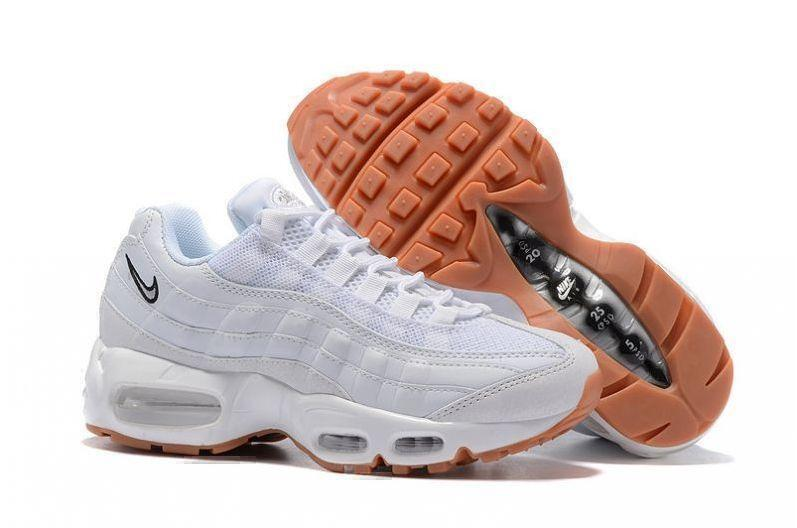 Кроссовки Nike Air Max 95 (White/Gum) фото в «GetKeds»