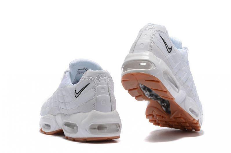 Nike Air Max 95 (White/Gum) фото #3 в «GetKeds»