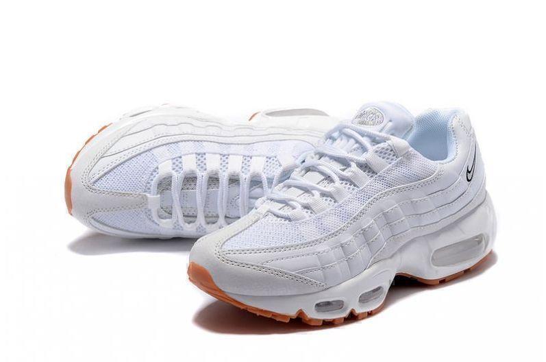 Nike Air Max 95 (White/Gum) фото #4 в «GetKeds»