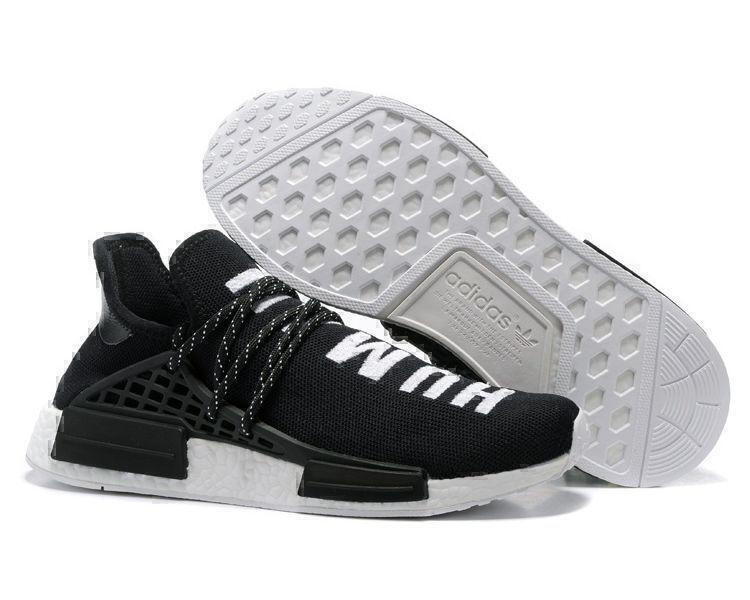 Кроссовки Adidas NMD Human Race (Black) фото в «GetKeds»