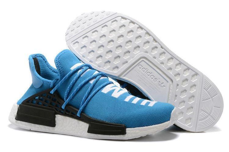 Кроссовки Adidas NMD Human Race (Blue) фото в «GetKeds»
