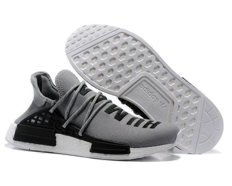 Кроссовки Adidas NMD Human Race (Grey) фото в «GetKeds»