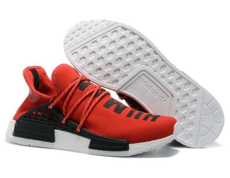 Кроссовки Adidas NMD Human Race (Red) фото в «GetKeds»