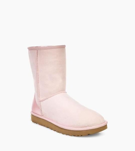 UGG Classic Short ll Metallic Pink фото #3 в «GetKeds»