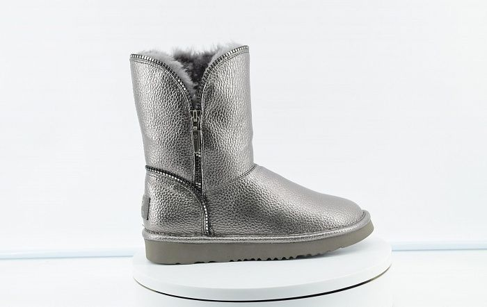 Jimmy Choo GRANULAR SKIN Grey фото #5 в «GetKeds»