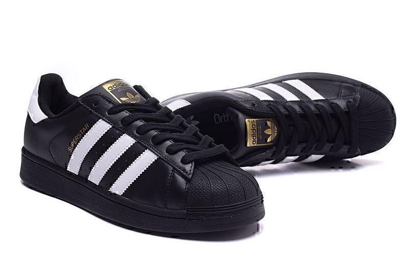 Adidas Superstar (Core Black/White) фото #3 в «GetKeds»