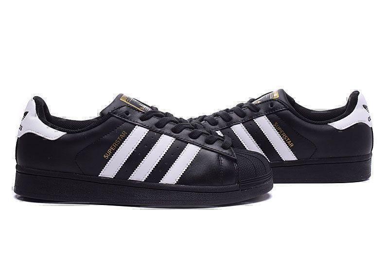 Adidas Superstar (Core Black/White) фото #4 в «GetKeds»