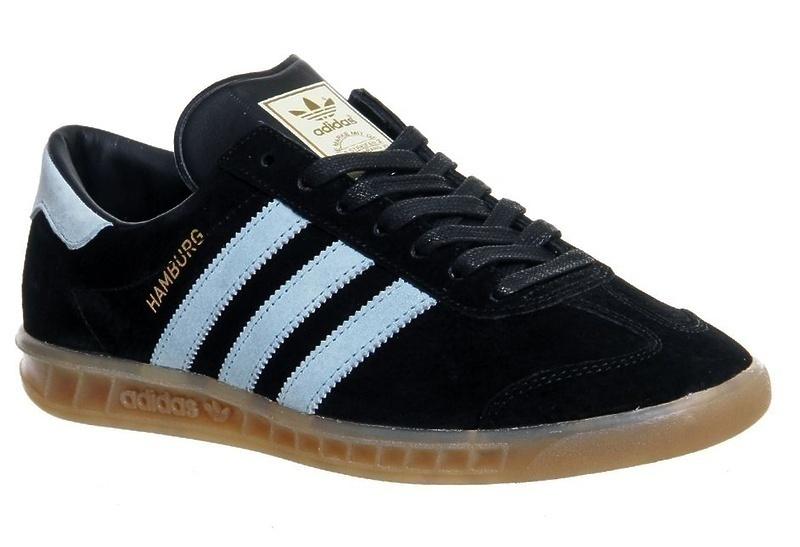 Adidas Hamburg (Black/Light Blue) фото #2 в «GetKeds»