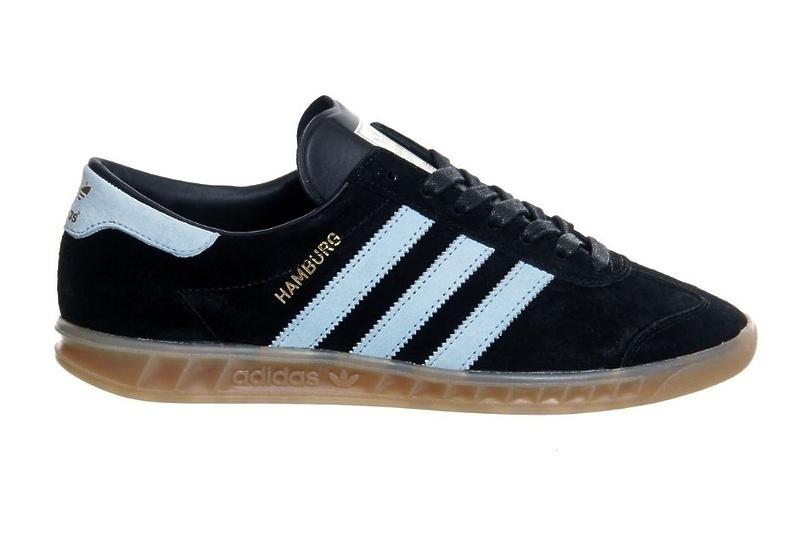 Adidas Hamburg (Black/Light Blue) фото #3 в «GetKeds»