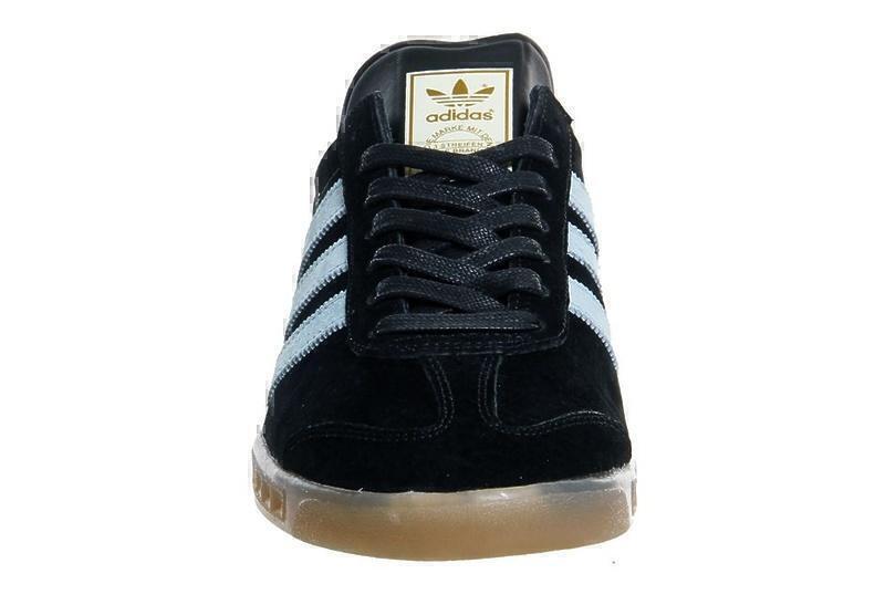 Adidas Hamburg (Black/Light Blue) фото #4 в «GetKeds»
