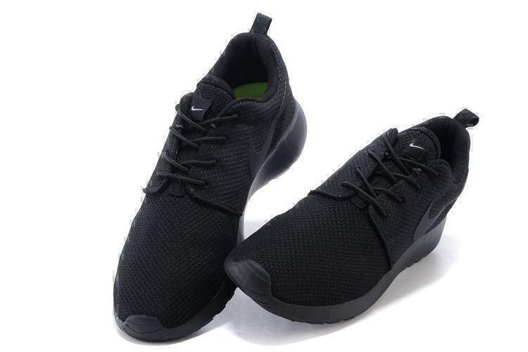 Nike Roshe Run (Black) фото #3 в «GetKeds»