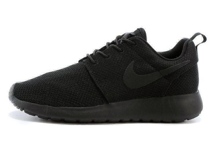 Nike Roshe Run (Black) фото #4 в «GetKeds»