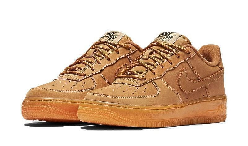 Кроссовки Nike Air Force 1 Low GS Wheat-AF1133GK фото в «GetKeds»